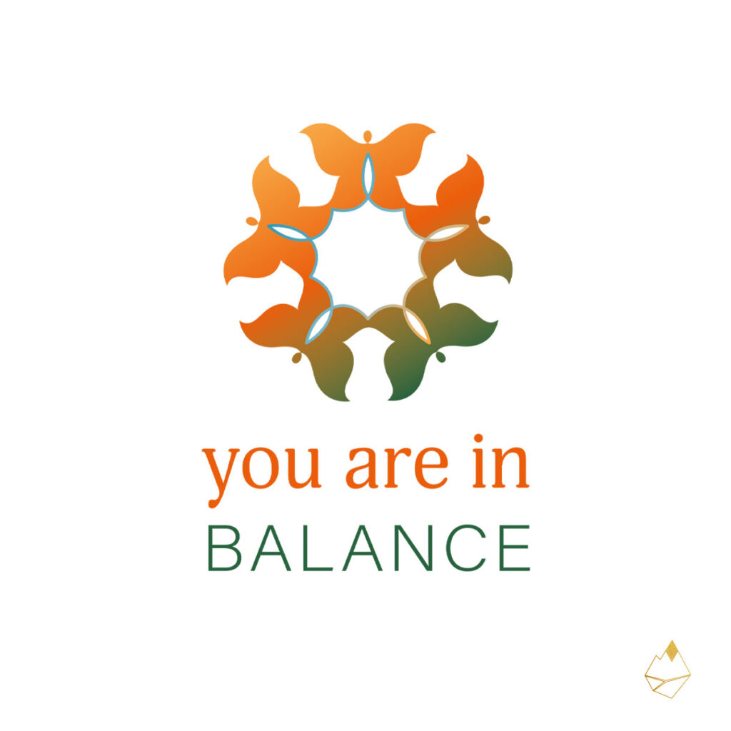 Petra de Krom portfolio You are in Balance primair logo