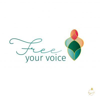 Petra de Krom portfolio Free your voice primair logo