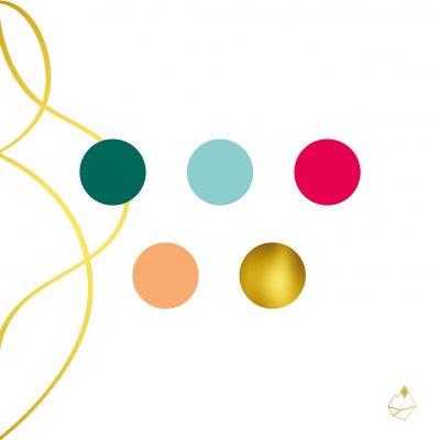 Petra de Krom portfolio Free your voice kleurenpalet