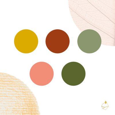 Petra de Krom portfolio branding kleurenpalet