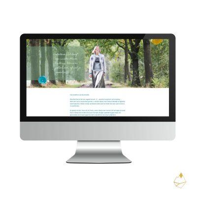 Petra de Krom portfolio branding webdesign