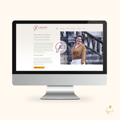 Petra de Krom portfolio Jeanette website