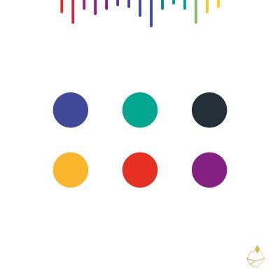 Petra de Krom portfolio One Frequency kleurenpalet