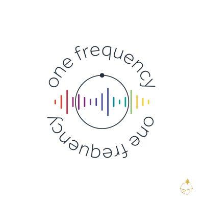Petra de Krom portfolio One frequency secundair logo